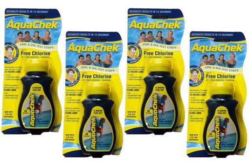 Aquachek Chlorine Test Strips Pool Chemicals Pool