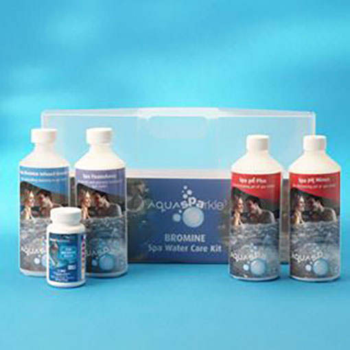 Aquasparkle Spa Bromine Water Care Kit