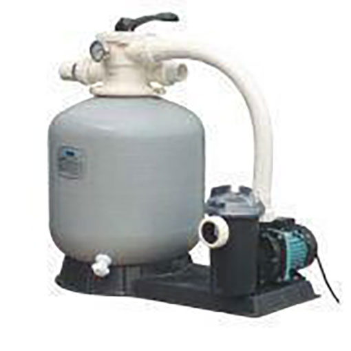 Top Mount Sand Filter and SS Pump