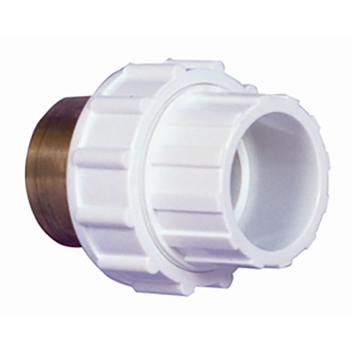 White Abs Pvc Pipe Fittings 1 5 Quot Composite Union Ft Fp