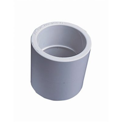 "White ABS/PVC Pipe Fittings 1.5"" P-T Sockets"
