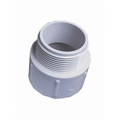 "White ABS/PVC Pipe Fittings 1.5"" Socket Nipples"