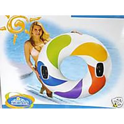 Intex Color Whirl Inflatable Ring