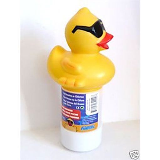 Derby Duck Floating Tablet Dispenser - SMALL